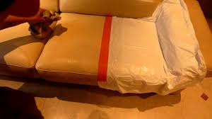 comment teindre un canapé comment teindre un canapé en cuir