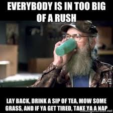 Uncle Si Memes - uncle si tea w630