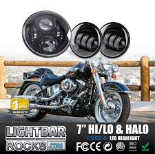 harley davidson lights accessories 7 80w led headlight for harley davidson with 4 5 60w auxiliary