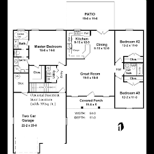 Ranch Style House Plans With Garage by 1400 Sq Ft House Plans Chuckturner Us Chuckturner Us