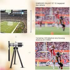 amazon com telephoto lens for samsung galaxy s7 edge s7 s6 edge