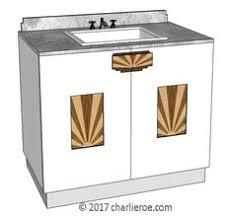 tds the design service new art deco oak 4 door breakfront