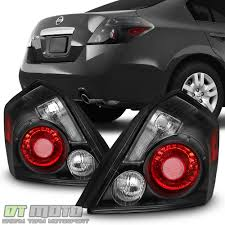 nissan altima black 2007 clear lens car u0026 truck tail lights for nissan altima ebay