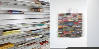 Unusual Bookcases Diy Idea Thin Display Shelf As Room Divider Diy Furniture Thin