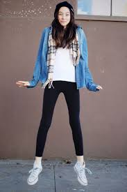 12 best how to wear leggings with white converse images on