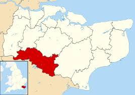 England On Map Borough Of Tunbridge Wells Wikipedia
