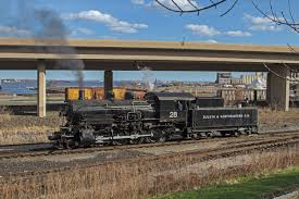 duluth u0026 northeastern no 28 makes first test runs trains magazine