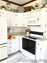 Acrylic Kitchen Cabinets Pros And Cons How Not To Paint Your Kitchen Cabinets 1915 House