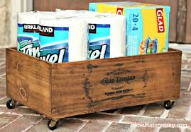 get organized with cheap and easy rustic storage oh so pinteresting