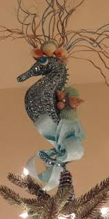 seahorse tree topper dollar ornaments tree toppers