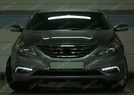 2011 hyundai sonata headlights 11 14 hyundai sonata 14w high power led daytime running lights