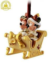 disney minnie and mickey mouse sleigh