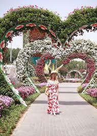 dubai miracle garden my dubai travel diary