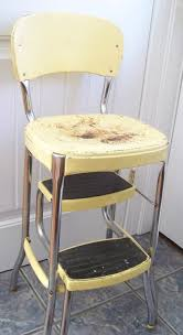 1960s Kitchen by Vintage Stool Step Stool Kitchen Stool Cosco Chair Vintage Cosco