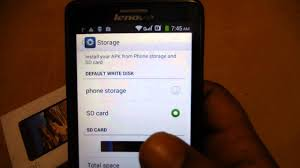 how to install apk to sd card lenovo a536 how to move apps to sd card in lenovo a536