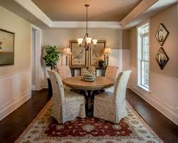 Traditional Dining Room With Carpet By CustomHomeGroup Zillow - Carpet dining room