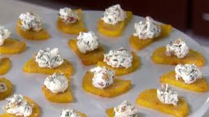 polenta bites with goat cheese food network