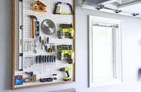 Cool Pegboard Ideas Woman In Real Life The Art Of The Everyday Garage Organization