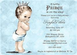 baby boy baby shower invitations prince themed baby shower invitations baby shower ideas
