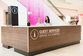Customer Service Desk Guest Services Bayshore Shopping Centre Ottawa