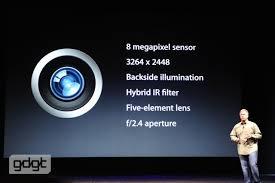 iphone 5s megapixels iphone 5 upgrade includes 8 megapixel sensor panorama