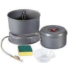 faitout et cuisine lygod marmite de cing outdoor équipement de cuisine pique nique