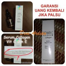 Serum Vitamin C Wajah serum wajah vitamin c dan e tongkat ajimat madura