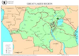 Republic Of Congo Map Wfp Activities In The Great Lakes Region Democratic Republic Of