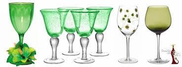 green wine glasses cleantha crystal wine gl cleantha crystal wine