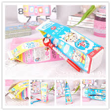 new year supplies milk fruit juice box pencil stationery bags supplies