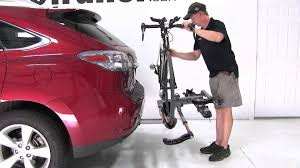lexus f sport road bike review of the kuat nv hitch bike rack on a 2010 lexus rx 350