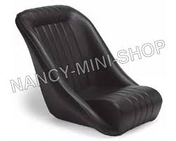 siege mini baquet vinyl noir nms4069 mini cooper nancy