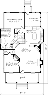 Southern Living Floorplans Walterboro Ridge Moser Design Group Southern Living House Plans