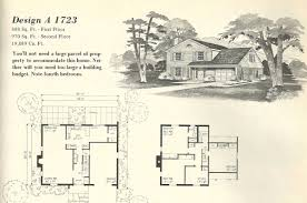 mid century home plans vintage house plans 1723 antique alter ego