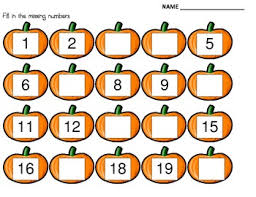 this fall sheet may be used to teach reinforce or assess number