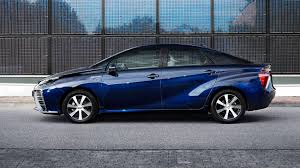 toyota car company toyota mirai 2015 hydrogen fuel cell vehicle review by car magazine