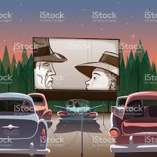 drivein theater stock vector art 528634139 istock