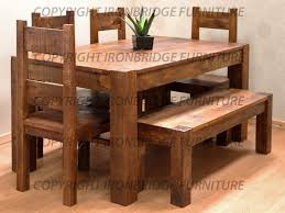 Rustic Dining Room Furniture Sets - kitchen rustic kitchen sets and 22 vintage round glass dining