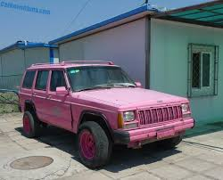 white and pink jeep beijing jeep cherokee is pink in china carnewschina com
