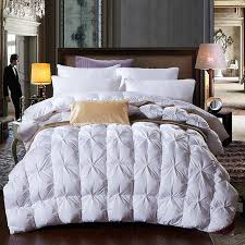 Best Goose Down Duvet Bedroom Duck Down Duvet King Size All Season Best 2017 For