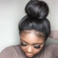 try new hairstyles virtually 360 degree 10inch 24inch vinuss hair 8a straight hair lace band frontal