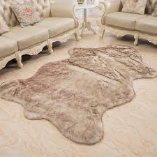 Fur Area Rug 1x1 5m Wool Rug Home Sheepskin Faux Fur Area Rugs And Carpets For