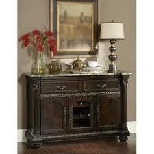 marble top buffet server