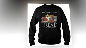 cute snoopy that u0027s what i do i read and i know things shirt and