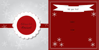 Participation Certificate Templates Free Download Christmas Gift Certificate Templates