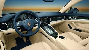 porsche panamera hatchback interior 2010 porsche panamera interior shots officially released