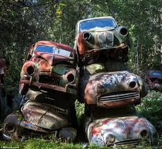 vintage cars 1960s photographer svein nordrum captures sweden u0027s classic car graveyard