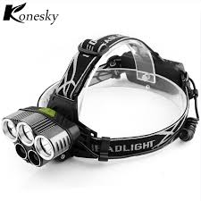 portable outdoor sports lighting led headl 18650 torch flashlight rechargeable 6 light modes for