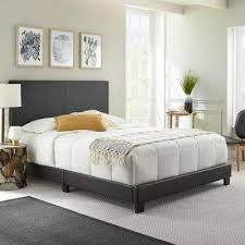 platform beds u0026 headboards bedroom furniture the home depot