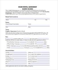 9 rental sample agreement forms free documents in pdf